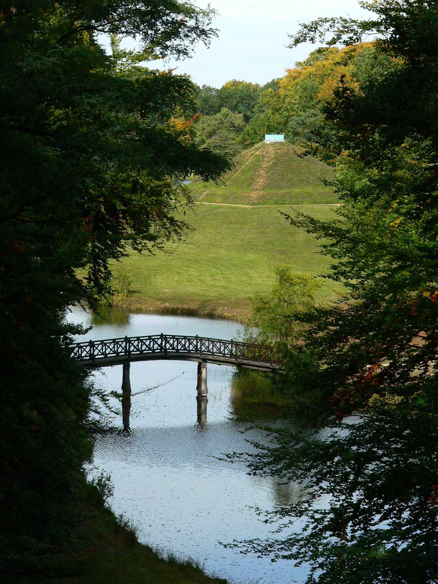 Schloss Branitz - Park - Brücke