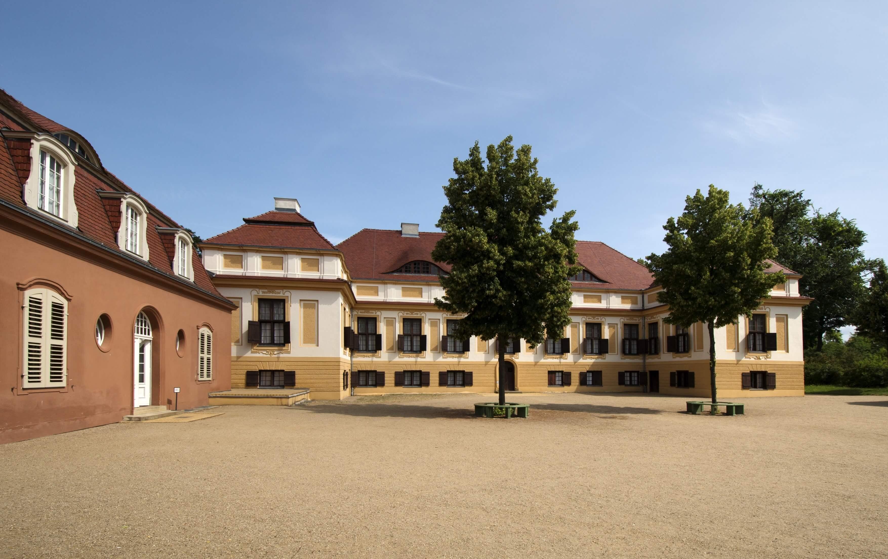 Schloss Caputh - Strasse der Einheit