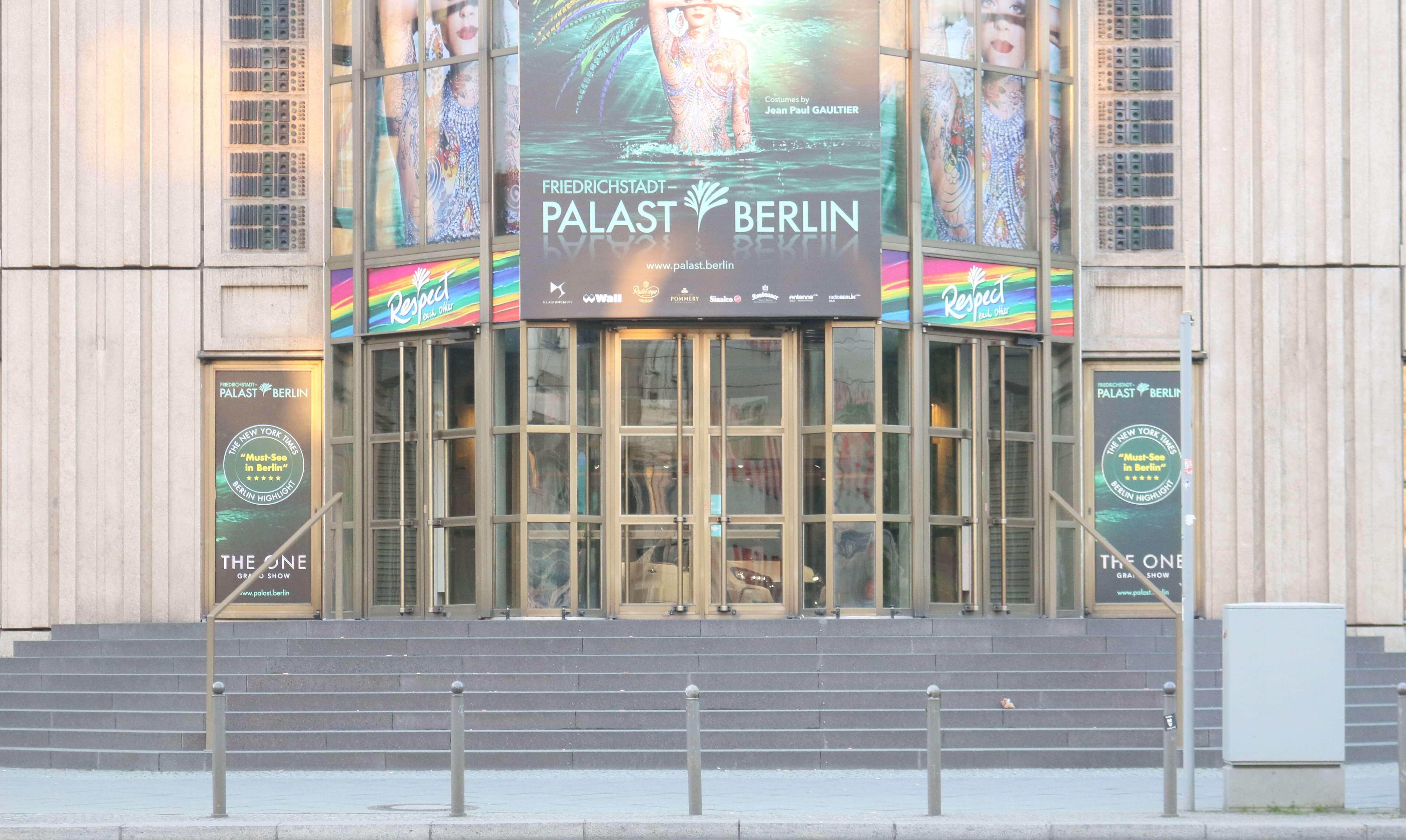 Friedrichstadt-Palast - Friedrichstraße 107 - 10117 Berlin