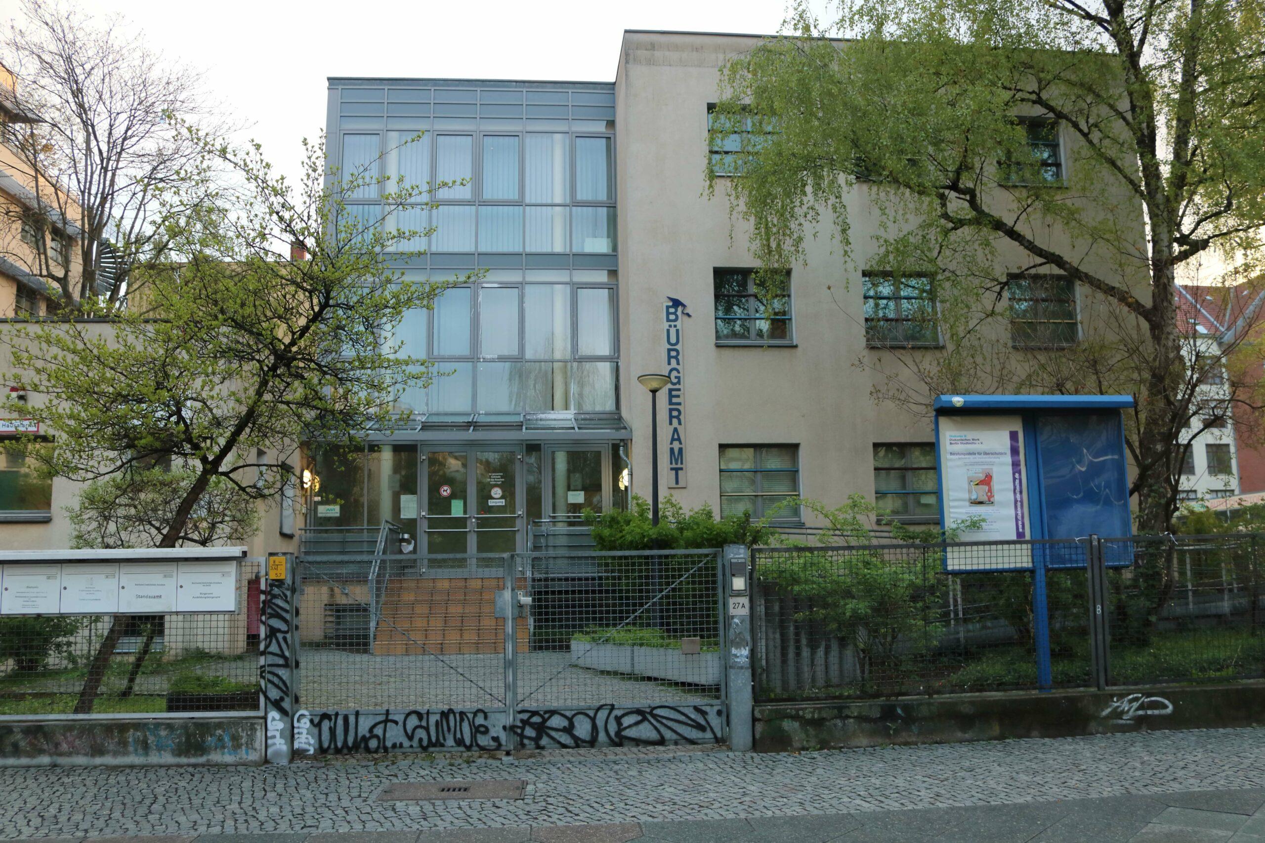 Bürgeramt 2.0 - Ausbildungsbürgeramt - Schlesische Straße