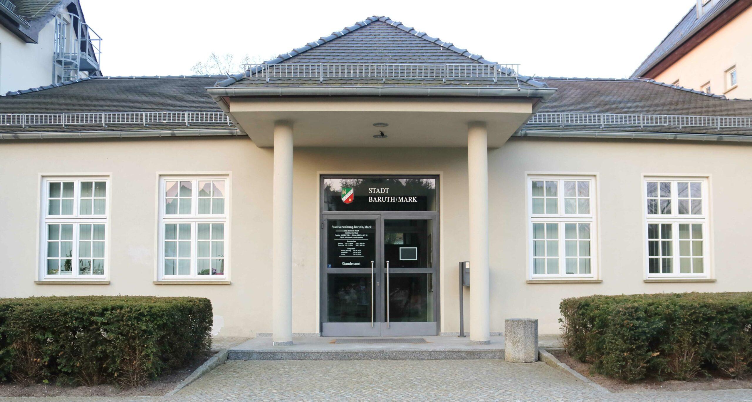 Bürgeramt Baruth Mark - 15936