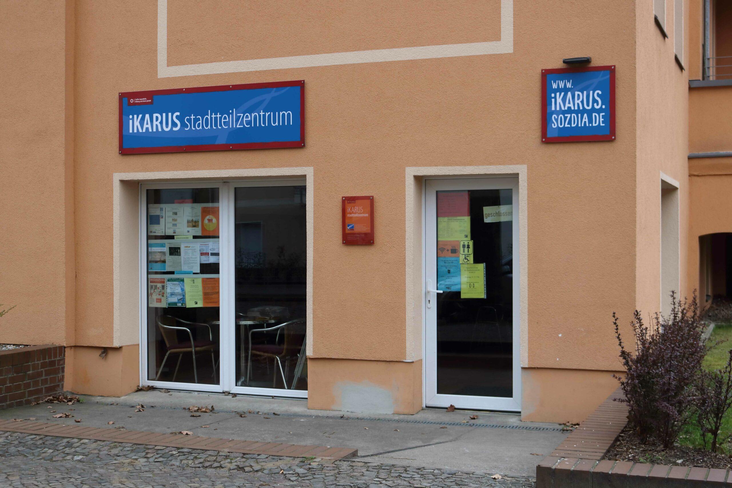 Bürgeramt Ikarus - Stadtteilzentrum - Wandlitzstraße