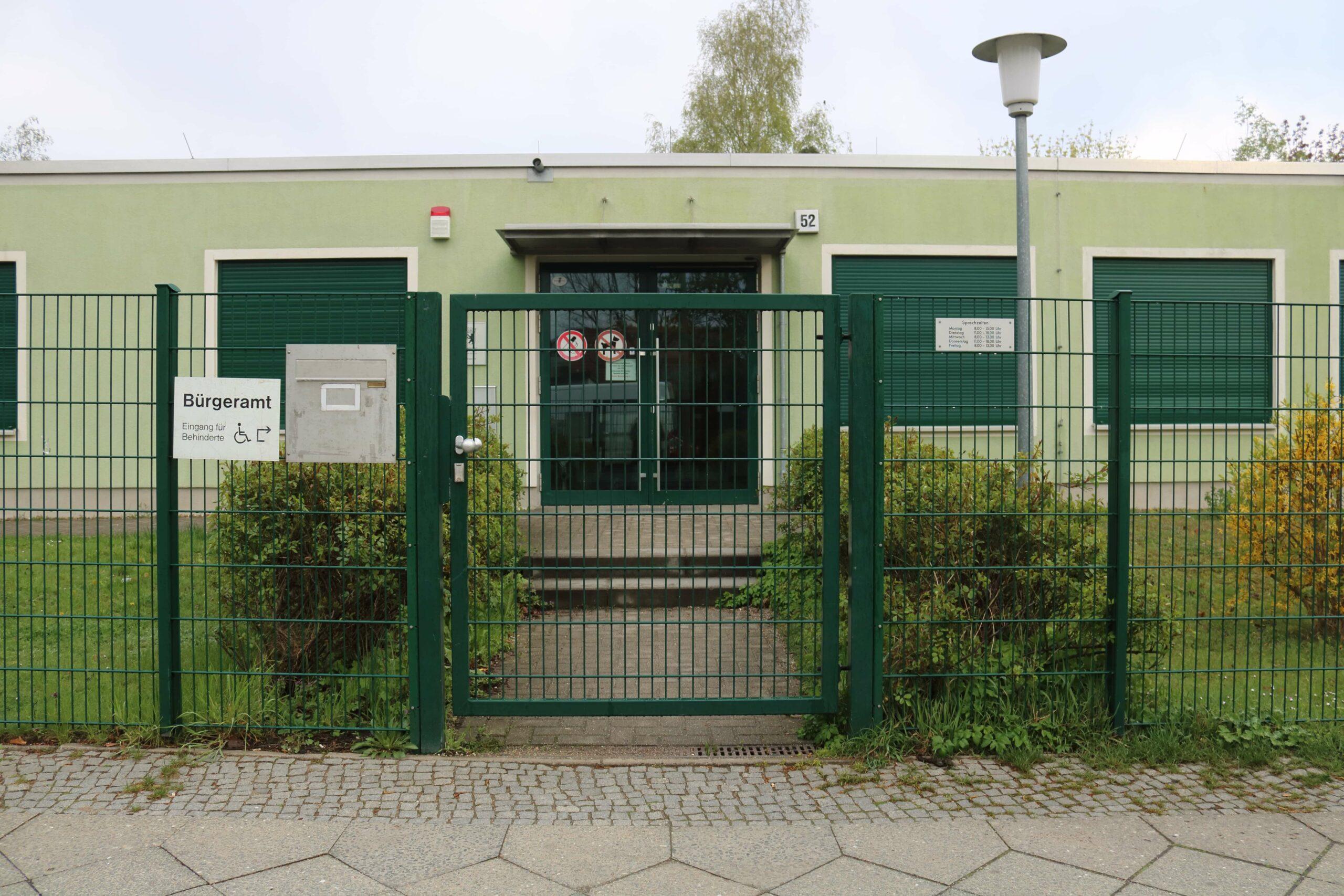 Bürgeramt Zwickauer Damm