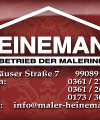 HEINEMANN GmbH – Fachbetrieb der Malerinnung Erfurt