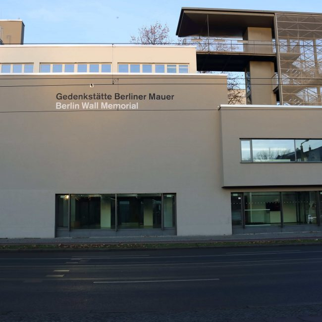 Die Gedenkstätte der Berliner Mauer