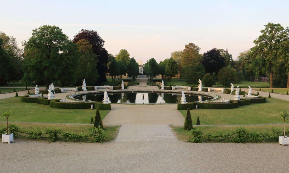 Schloss Sanssouci - Brunnen