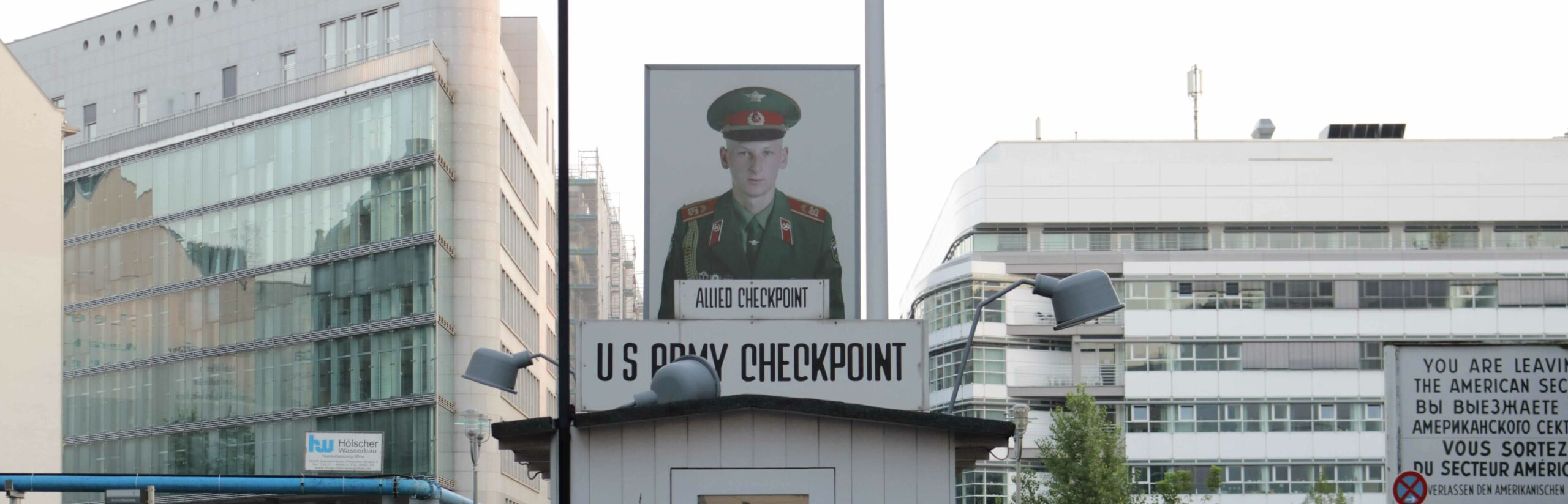 Checkpoint Charlie - US Checkpoint